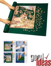 PUZZLE ROLL WITH FREE 1000 PIECE JIGSAW (JIGROLL) (270) - Roll up and move your jigsaw in minutes.