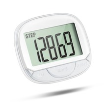 Best selling free pedometers, multi-function pedometers,walking pedometers