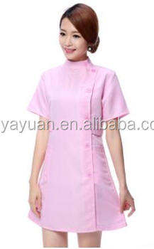 South Korean edition hospital dress in autumn winter color doctor nurse