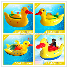 Remote control panel motorized bumper boat with greatful and most competitive price