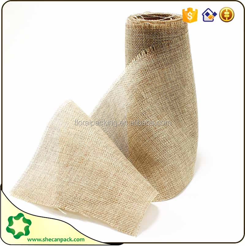 Excellent Price Eco-Friendly Material 100% Natural Jute Fabrics Rolls