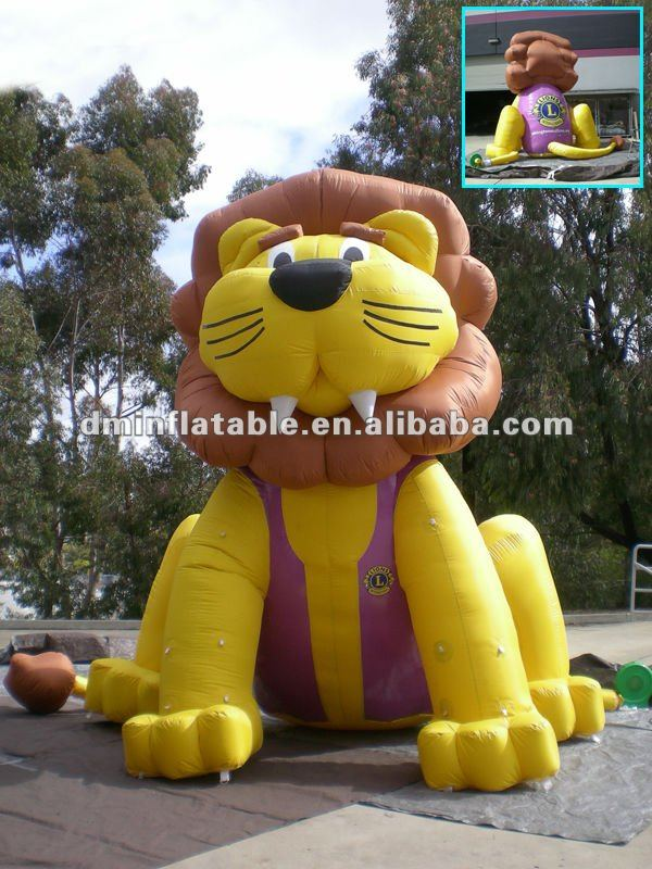 outdoor use inflatable lion