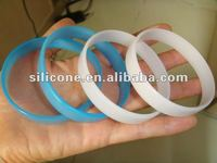 Fashion UV silicon wrist bands rubber
