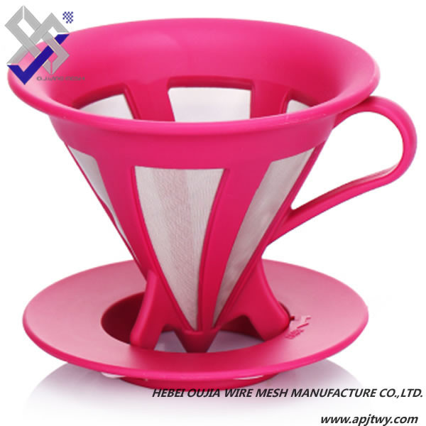 Stainless steel coffee cup filter/tea cup filter