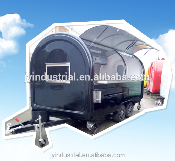 China manufacturer street vending van/truck/kiosk/trailer /mobile food truck with grill