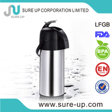 Plastic and stainless steel inner tea thermos europe (ASUF)