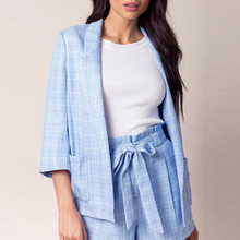 Ladies casual blazer women business custom suits