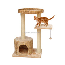 Wholesale high quality natural banana leaf cat tree / Furniture