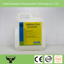 Chicken/pig medicine 2.5% Toltrazuril Oral Solution manufacturer for chicken weight gain