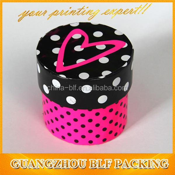 cylinder shaped paper gift box(BLF-GB390)