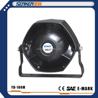 Senken high power 100w police car horn siren speaker