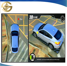 360 Degree Bird View Driving Assistant System 360 3D Panoramic Car Camera Parking System