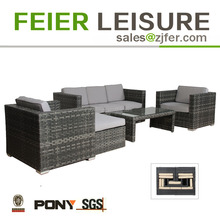 space saving patio furniture rattan used outdoor sofa for Garden