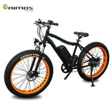 ELECYCLE 250W Electric Bicycle 26 Inch 21 Speeds Folding Mountain Bike with Lithium Battery