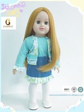 wholesale jeans cloth doll dress/ doll clothes for 18 young american girl doll