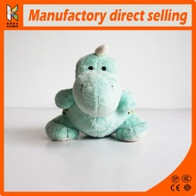 Custom lovely monoclonius plush toys green dinosaur stuff toys for kids OEM