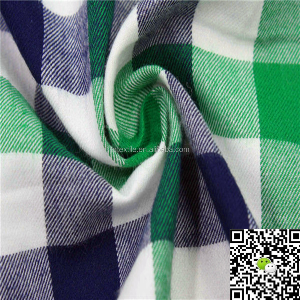 Trade Assurance Yarn dyed stripe and check fabric, Yarn Dyed shirting fabric, Yarn dyed cotton flannel fabric