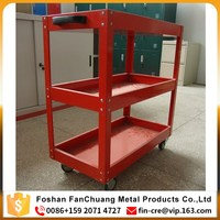 100KG 4 Wheels Metal Workshop Tool Trolley