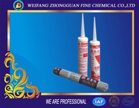Fireproof silicone sealant tube with multi-purpose