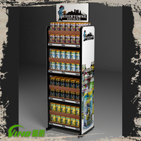 Monster Energy Drinks Display, Bottle Display Rack for Soda