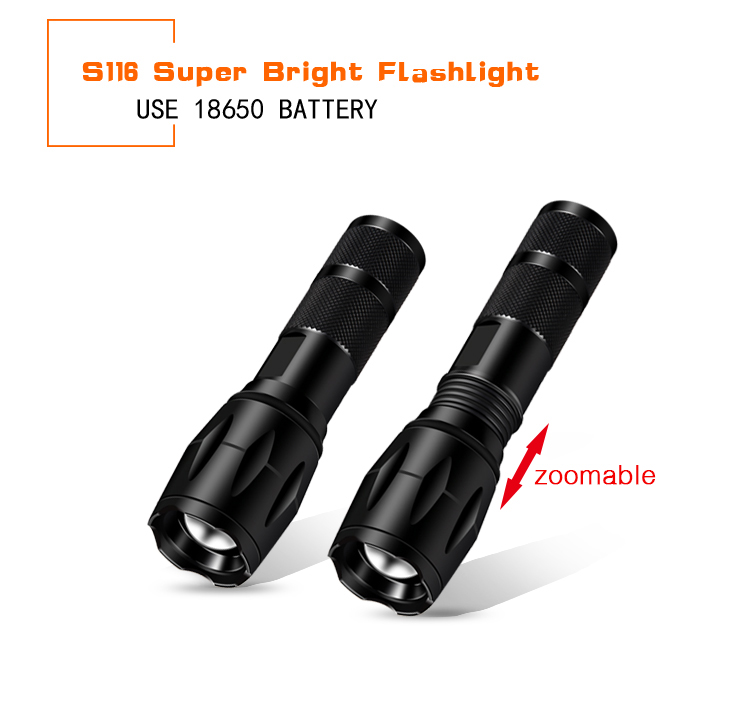 A new Military Grade g700 tactical flashlight led torch light rechargerable led lamp