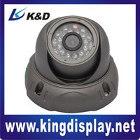 2012 K&D new Intelligent IR Dome Camera 550TVL with manual lens