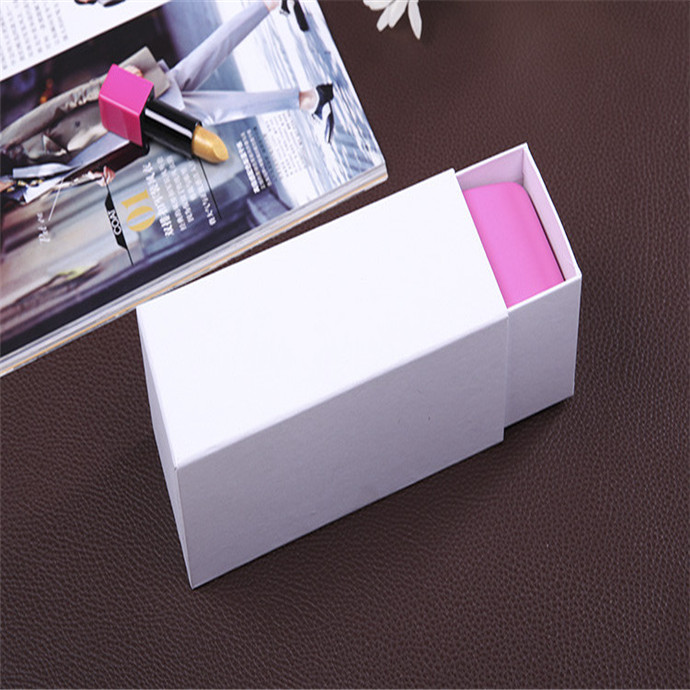 Simple paper square drawer style sunglasses packaging box wholesale