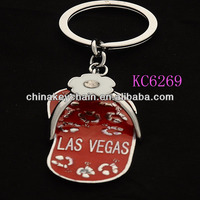 Novelty Personalized Metal Shoe Key Chain With Bottle Opener