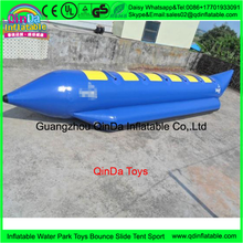 Popular Big Inflatable Towable Tubes Banana Boat, inflatable banana boat for sale
