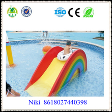 Funny Children Outdoor Water Slide Water Park Toys Swimming Pool Slide QX-18077D