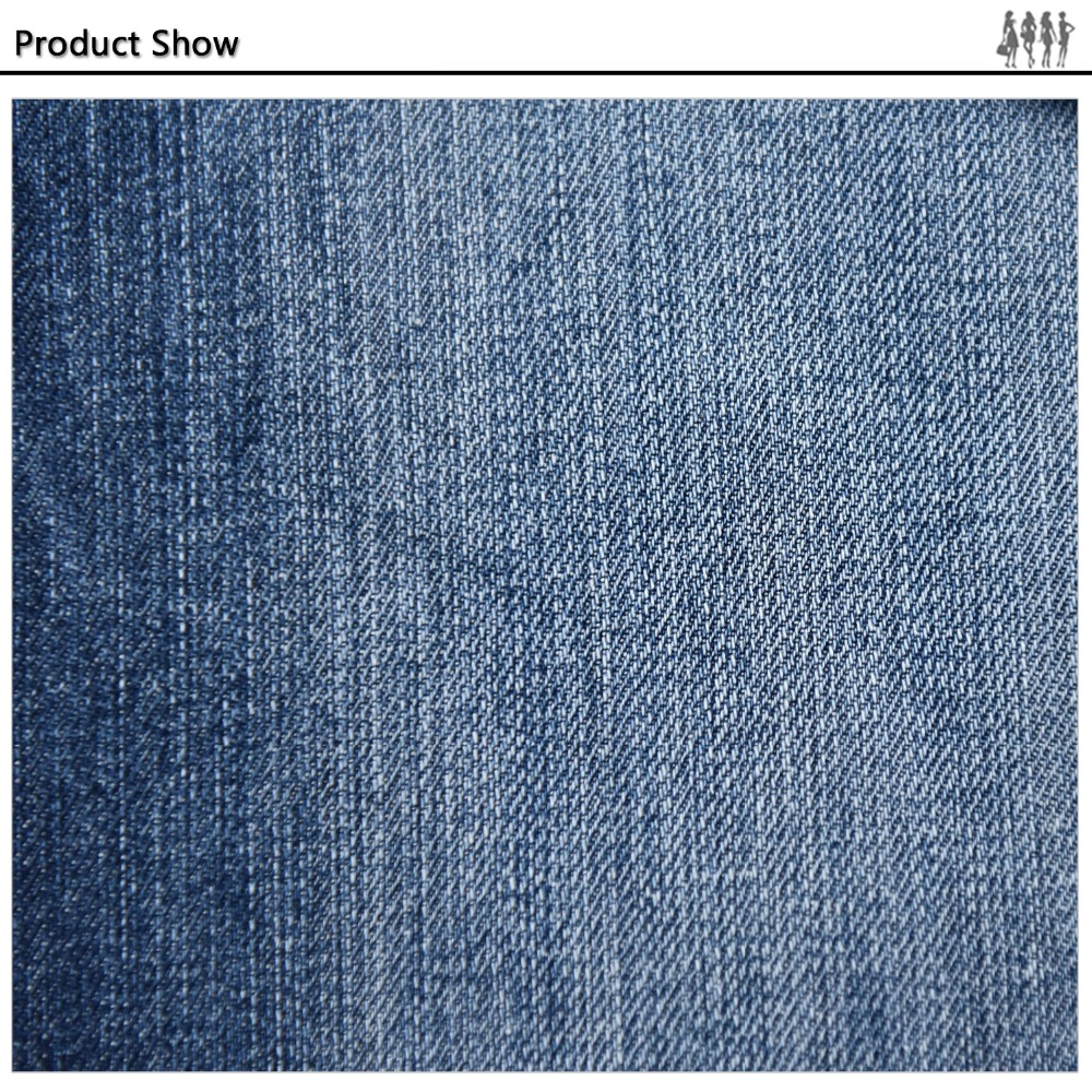 Perfect Stretch buyer imported mercerized denim fabric