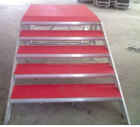 aluminum stage portable stage portable stairs folding portable stairs