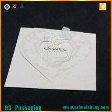 Hollow Out Embossed Invitation Greeting Card/Wedding Card