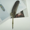 Guinea Fowl Feather Quill Pen For