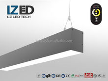 Market leaders new energy Shenzhen LED suspension light,100 degree 100lm/w LED linear light