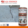 Fast curing sealant for concrete joints two component