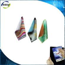 Popular promotional gifts customized colorful printing Double Sided microfiber towel cloth