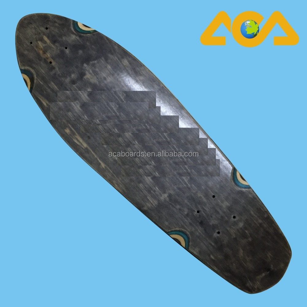 Wholesale Cruiser skate decks 100% Wooden blank Skate Decks