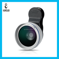 HXGD big wide angle lens optical glass and metal case 0.45x wide angle lens for iPhone phone Accessories
