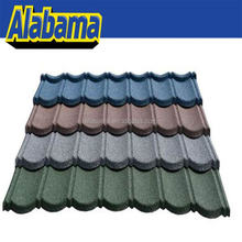 Factory price fastest delivery time flat roof tiles, Chinese roof tiles, stone chip roof tiles