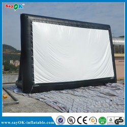 commercial grade inflatable movie screen advertising inflatable