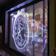 High Quality Window Display Transparent Wall Glass LED Screen Display