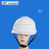 HDPE ce en397european style protective headgear with earmuffs slot