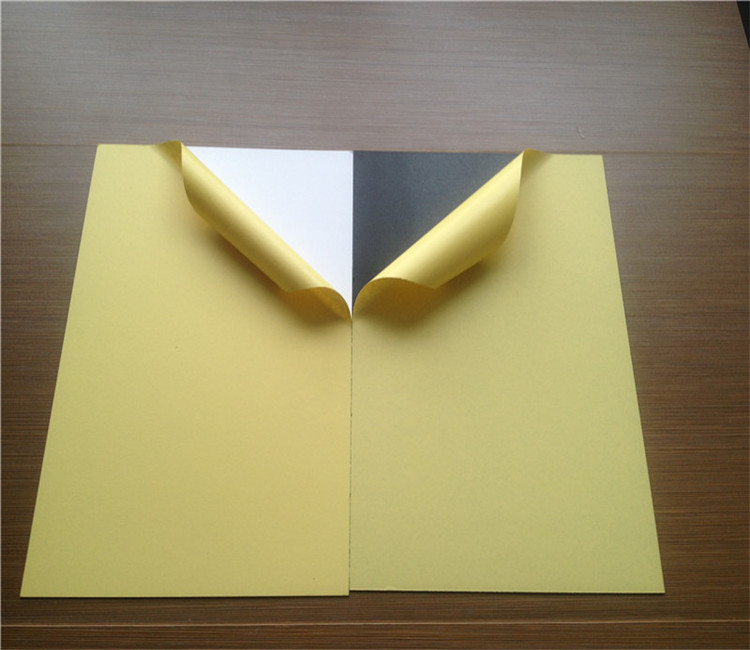 Double side adhesive PVC Sheet for making Photo Album