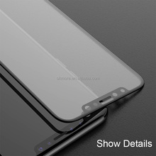 Mobile Accessories Full Glue 3D curved Tempered glass screen protector for iphone 8