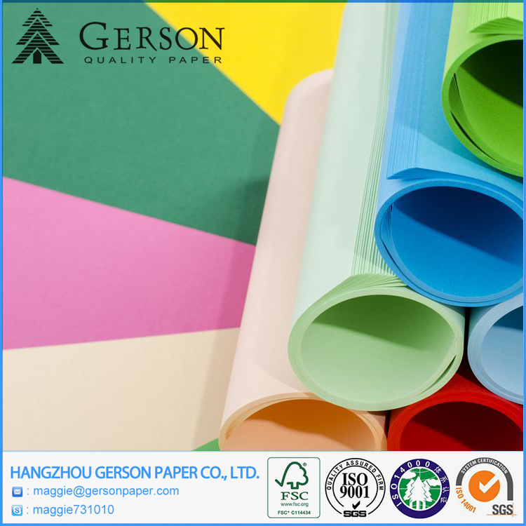 Factory Supply Color Cardboard/Color Paper/Color Bristol Board & Professional Manufacturer In China