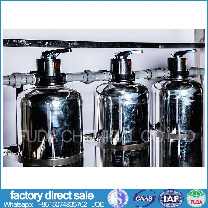 water treatment three filtering bottle stainless steel materials