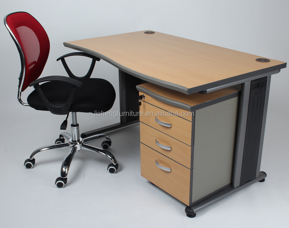 wooden office table. Linear Office Desk China Steel Legs/ Wooden Table Korean Designs A