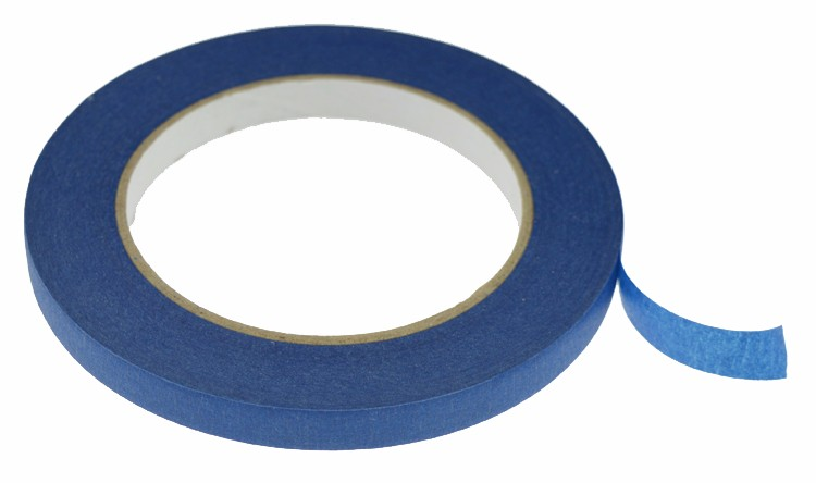 Hottest Euivalent 3M Quality Blue Color Painters Tape widely used for high temperature wall car boat painting masking