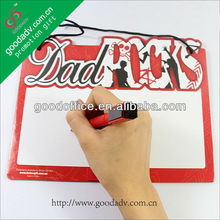 Factory manufacture magnetic fridge writing board with marker pen
